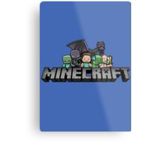 minecraft 2 Metal Print