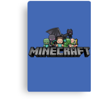 minecraft 2 Canvas Print