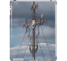 Christian iron cross iPad Case/Skin