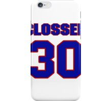 National baseball player JD Closser jersey 30 iPhone Case/Skin
