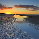 7 Mile Beach sunset by phillip wise