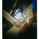 "Pinhole Polaroid - ""Clock"" by David Amos"