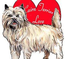 Cairn Terrier Love by IowaArtist