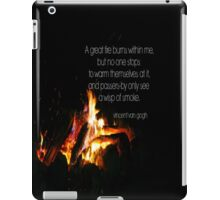 Van Gogh Fire iPad Case/Skin