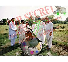 Pakistani Top Secret UFO Material Photographic Print