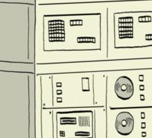 The Alex 9000 Computer c1981 Sticker