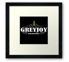 Greyjoy Draught Framed Print