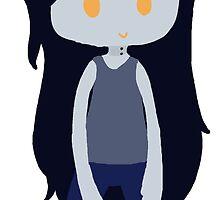 Marceline the vampire queen by orangemania