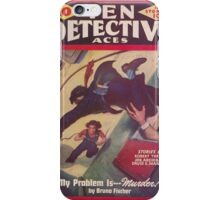 Ten Detective Aces - February 1944 iPhone Case/Skin