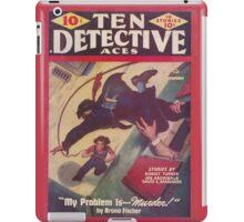 Ten Detective Aces - February 1944 iPad Case/Skin