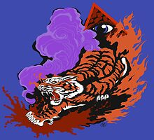 Eye Of The Tiger Image: by Cloud-Drawings