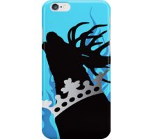 Game of Thrones Baratheon Aqua & Silver Crowned Stag iPhone Case/Skin