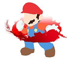 Super Smash Bros Mario by ericau18