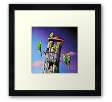 Public Housing Framed Print
