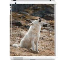 Howling Arctic Wolf iPad Case/Skin