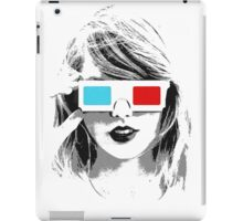 T-Swift 3D - Taylor Swift shirt, phone case, & more iPad Case/Skin