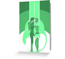 Legend of Korra - Through The Portal Greeting Card