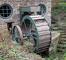 The Water Wheel Whitworth Park by Barry Norton