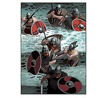 Vikings wading Photographic Print