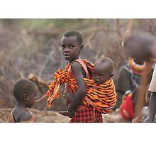 Baby in Samburu Photographic Print