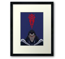 The Legend of Korra Unalaq and Vaatu Framed Print