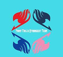 Fairy Tail's Strongest Team by Dean Frazer