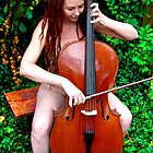 Cello figure by Cheryl Grover