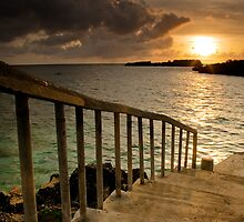 stairs to the sea by gashwen