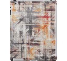 Abstract painted canvas #5 iPad Case/Skin