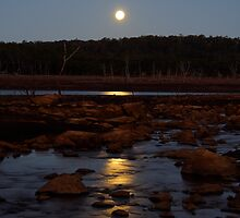 Easter Moonrise by Anthony Davey