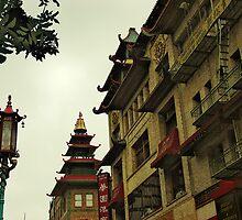 Pagoda by Beatrix M Varga