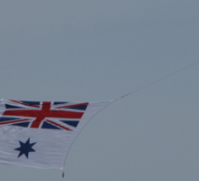 Flying The White Ensign @ Nowra Airshow 2008 Sticker