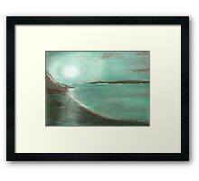 JADE MOON Framed Print