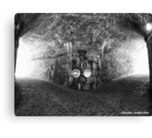 Under the fortress Canvas Print
