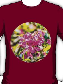 Pink apple blossom flowers T-Shirt