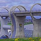 The Falkirk Wheel III by Tom Gomez