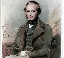 Young Darwin by GodsAutopsy