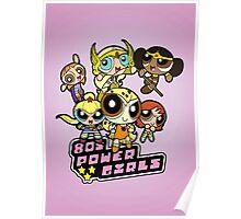 80s Power Girls Poster
