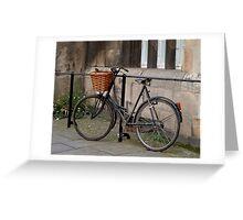 Bike in York Greeting Card