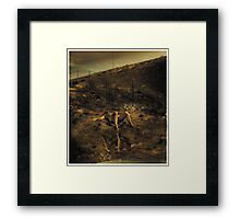 Death of a salesman Framed Print