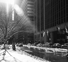 New York Winter by Jasper Smits