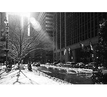 New York Winter Photographic Print