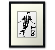 Leo Messi Framed Print