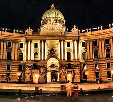 Hofburg by Kurt  Tutschek