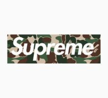 Supreme x Bape  Kids Clothes