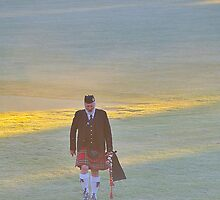 Brigadoon Walking In The Glen - Brigadoon Highland Gathering , Bundanoon, NSW Australia by Philip Johnson