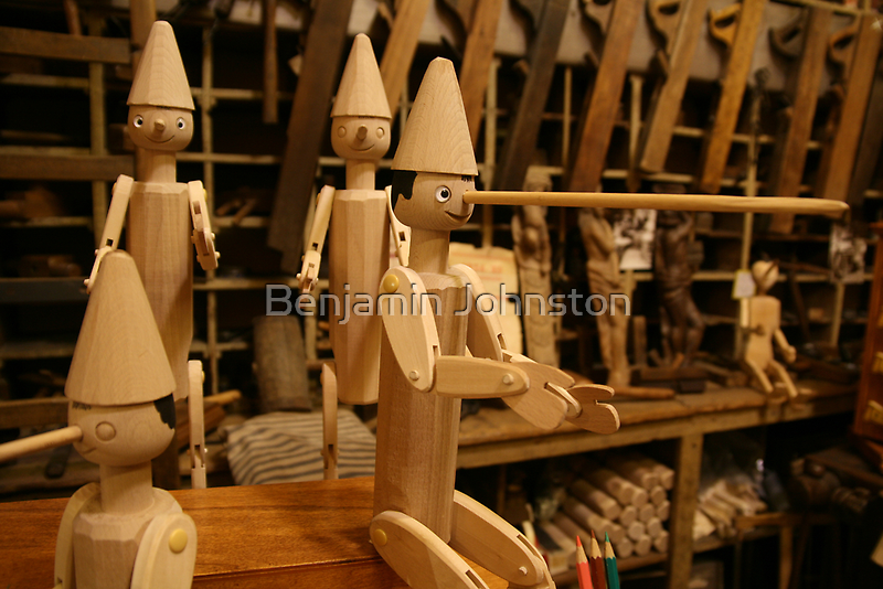 Geppetto's workshop by Benjamin Johnston