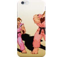 The Evolution of Dan, Street Fighter iPhone Case/Skin