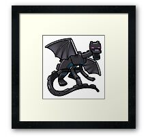 Dragon Steel Framed Print
