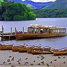 Derwentwater pier by Tom Gomez